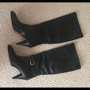 Loeffler Randall Kitten Heel Knee High Boots